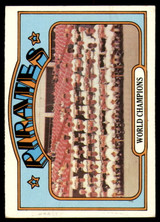 1972 Topps #1 World Champions Pirates Excellent  ID: 258725