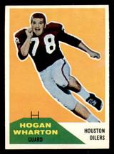 1960 Fleer #18 Hogan Wharton Ex-Mint