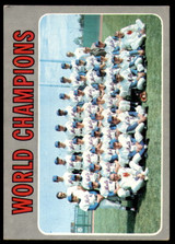1970 Topps #1 World Champions Mets Excellent  ID: 241588
