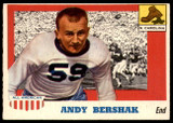 1955 Topps All American #7 Andy Bershak Ex-Mint