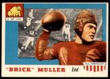 1955 Topps All American #22 Brick Muller Ex-Mint