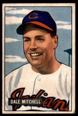 1951 Bowman #5 Dale Mitchell Excellent