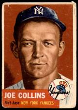 1953 Topps #9 Joe Collins Good