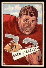 1952 Bowman Small #42 Norm Standlee Excellent