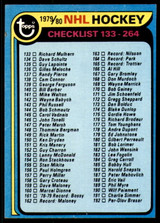 1979-80 Topps #237 Checklist Near Mint  ID: 202626