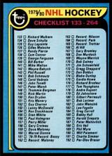 1979-80 Topps #237 Checklist Near Mint  ID: 202627
