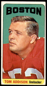 1965 Topps #1 Tommy Addison Very Good SP  ID: 222600