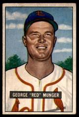 1951 Bowman #11 Red Munger Excellent+