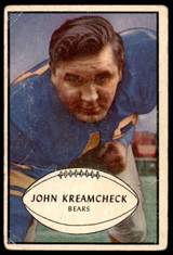 1953 Bowman #75 John Kreamcheck G-VG SP