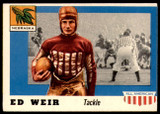 1955 Topps All American #3 Ed Weir Excellent+