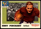 1955 Topps All American #4 Erny Pinckert Excellent+
