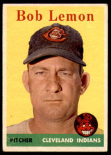 1958 Topps #2 Bob Lemon UER Very Good  ID: 251153