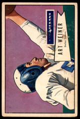 1952 Bowman Large #114 Art Weiner Good