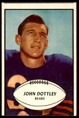 1953 Bowman #2 John Dottley Very Good  ID: 222014