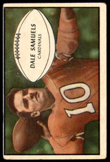1953 Bowman #33 Dale Samuels Very Good