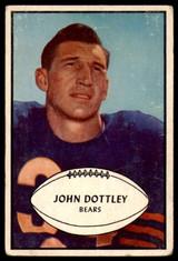 1953 Bowman #2 John Dottley Very Good  ID: 235983