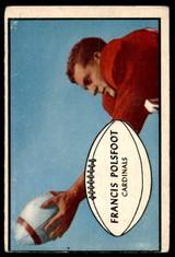 1953 Bowman #7 Fran Polsfoot G-VG