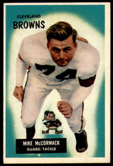 1955 Bowman #2 Mike McCormack Very Good RC Rookie