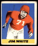 1948 Leaf #45 Jim White G-VG RC Rookie