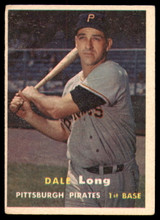 1957 Topps #3 Dale Long Excellent  ID: 238575