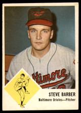 1963 Fleer #1 Steve Barber Very Good  ID: 226351