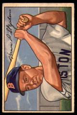 1952 Bowman #9 Vern Stephens Very Good