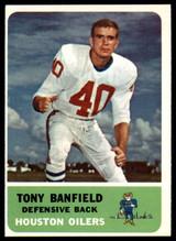 1962 Fleer #51 Tony Banfield Near Mint+