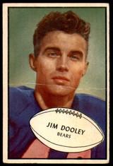 1953 Bowman #80 Jim Dooley G-VG