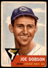 1953 Topps #5 Joe Dobson G-VG