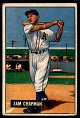 1951 Bowman #9 Sam Chapman Very Good  ID: 209807