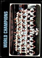 1971 Topps #1 World Champions Orioles VG-EX  ID: 240329