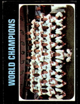 1971 Topps #1 World Champions Orioles VG-EX  ID: 216308