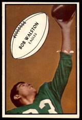 1953 Bowman #79 Bobby Walston Good