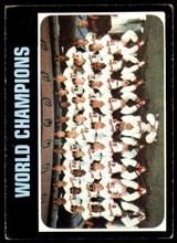 1971 Topps #1 World Champions Orioles Very Good  ID: 216310