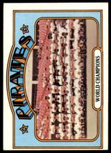 1972 Topps #1 World Champions Pirates Ex-Mint  ID: 216359