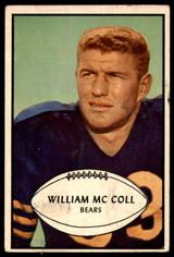 1953 Bowman #12 Bill McColl Good