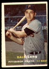 1957 Topps #3 Dale Long G-VG  ID: 228621