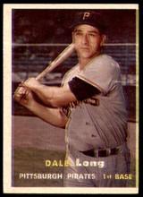 1957 Topps #3 Dale Long G-VG  ID: 240398