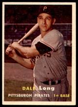 1957 Topps #3 Dale Long G-VG  ID: 240399