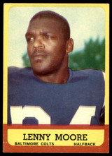 1963 Topps #2 Lenny Moore Excellent+