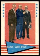 1961 Fleer #1 Frank Baker/Ty Cobb/Zack Wheat Poor Marked  ID: 215223