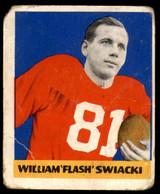 1948 Leaf #12 Bill Swiacki BL Poor RC Rookie