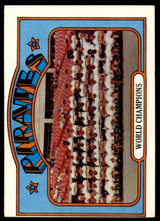 1972 Topps #1 World Champions Pirates Excellent  ID: 245763