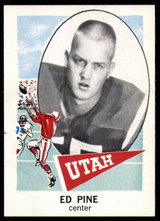 1961 Nu-Card #114 Ed Pine NM-Mint