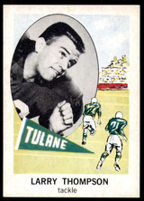 1961 Nu-Card #153 Larry Thompson NM-Mint