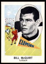 1961 Nu-Card #160 Bill McGuirt NM-Mint