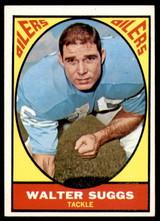 1967 Topps #55 Walt Suggs Near Mint+