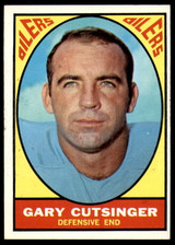 1967 Topps #56 Gary Cutsinger Near Mint  ID: 216929