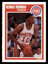 1989-90 Fleer #49 Dennis Rodman NM-Mint  ID: 269172