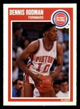 1989-90 Fleer #49 Dennis Rodman NM-Mint  ID: 269173
